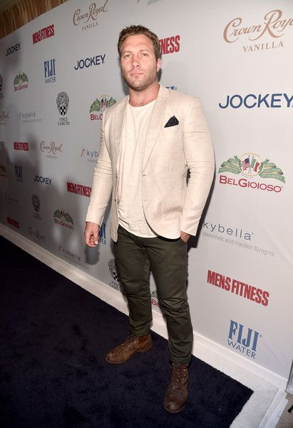 Actor Jai Courtney attends as Men's Fitness Celebrates the 2016 GAME CHANGERS.