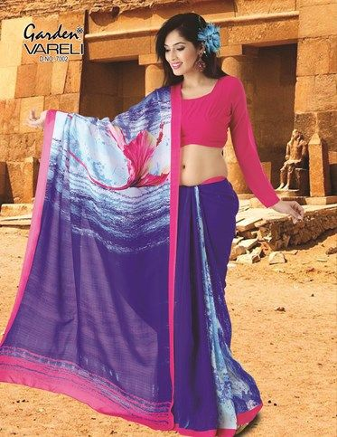 The Biggest and the most unique  Online Shopping for Sarees #Sarees, Women, Apparels, #Garden Vareli, Say IT With A Flower! At The Best Brands on Gardenvareli.com with Smart Price at Rs. 5,842/-