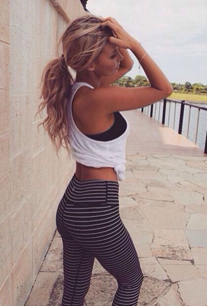 Typical Yoga Outfit