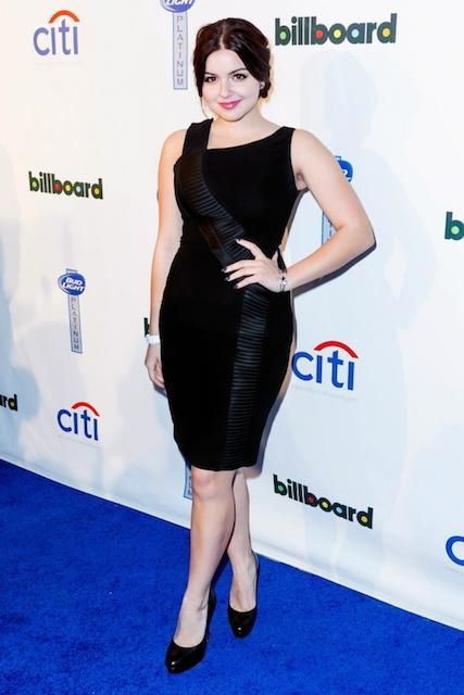 Modern Family's Ariel Winter during Grammy Awards 2014...