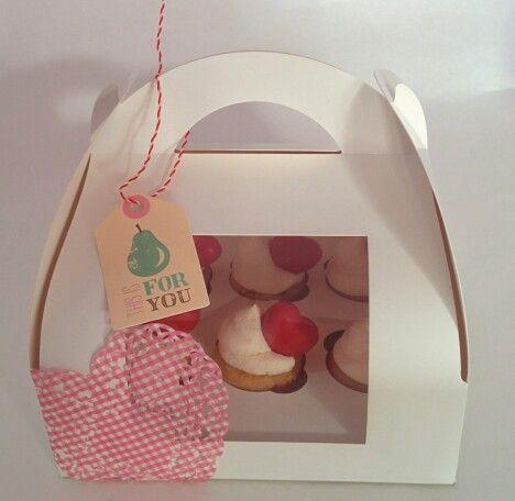 Valentines mini cupcakes (Violeta Dulce)