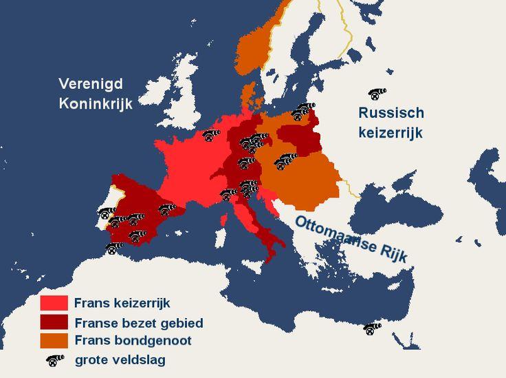 Kaart Napoleon  http://maaikezijm.com/2014/01/21/napoleon/