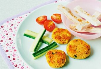 Sweet potato and chickpea #falafel #kids #vegetarian