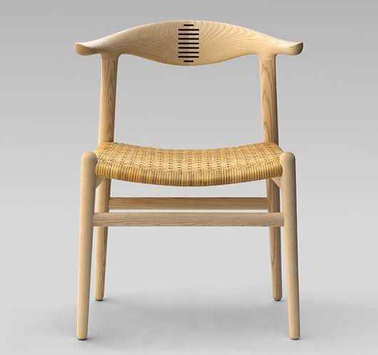 A Nordic Classic: Corn Horn chair designed by #HansWegner for #PPMobler in 1952