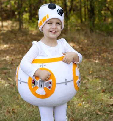 DIY BB8 droid Star Wars costume // BB8 Droid jelmez házilag gyerekeknek (varrási útmutató) // Mindy - craft tutorial collection // #crafts #DIY #craftTutorial #tutorial