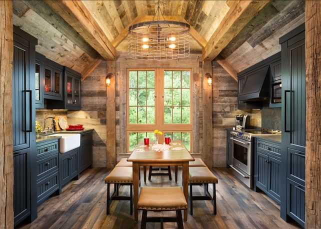 rustic kitchen design ideas - Rustic Interior Design Ideas