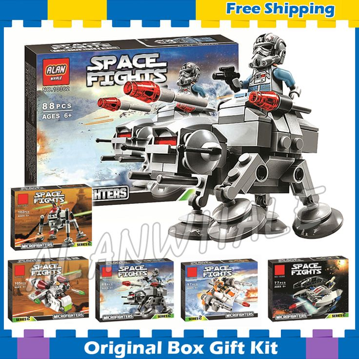 ==> [Free Shipping] Buy Best 6pcs/lot Stars Wars Bela Lepin The Avengers Starfighter Building Blocks Sets Model Kids Toys Compatible With Lego Online with LOWEST Price | 32785779620