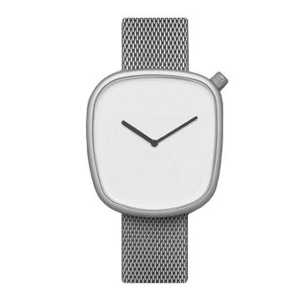 Buy your Bulbul Pebble 06 Steel/Mesh® Watch from an authorised retailer with free worldwide delivery. November 2016 collection and 5% off your first order