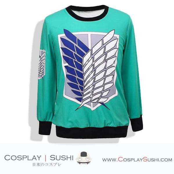 Get our NEW Attack on Titan Sweater! SHOP NOW ► http://bit.ly/1MnmlgF Follow Cosplay Sushi for more cosplay ideas! #cosplaysushi #cosplay #anime #otaku #cool #cosplayer #cute #kawaii #AttackOnTitan #AoT #Sweater #jacket #fashion