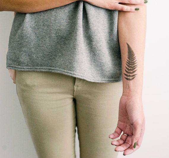 10 Floral & Plant Temporary Tattoos | Design*Sponge