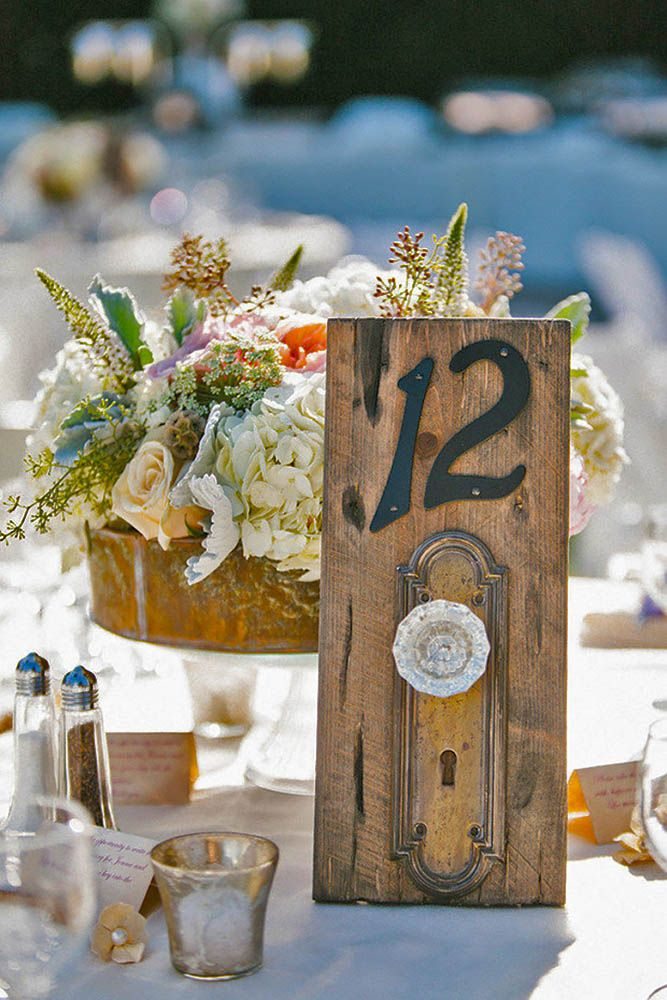 Fabulous Rustic Old Door Wedding Decoration Ideas ❤ See more: http://www.weddingforward.com/old-door-wedding-decoration-ideas/ #weddings