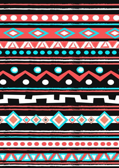 BLACK TIPI Art Print by Nika | Society6
