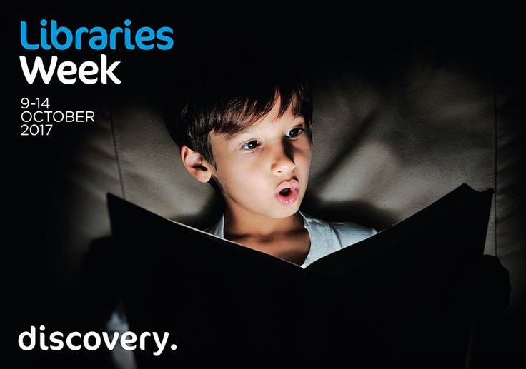 Libraries Week will encourage audiences to discover excellence and innovation at their public, academic or workplace library. It all starts with a network of UK libraries ready to take part during the second week of October 2017.