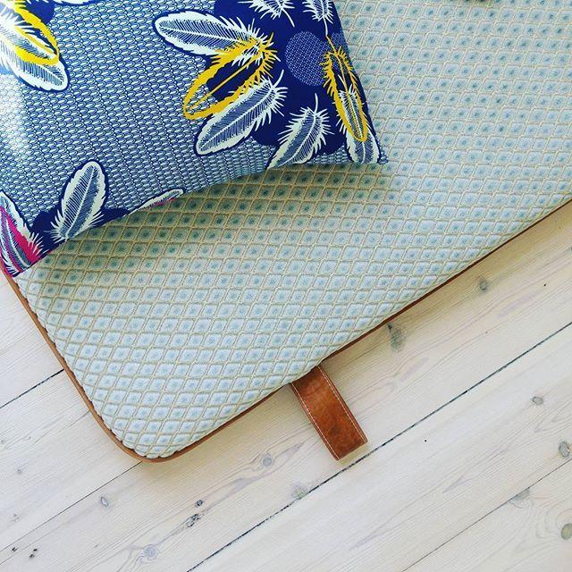 #them #bythornam #daybed #design #madeindenmark #velvet #leather #handmade #slowliving