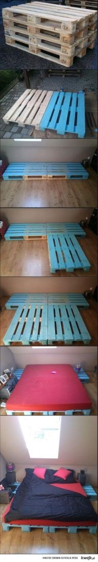 How to make a bed... so simple :)