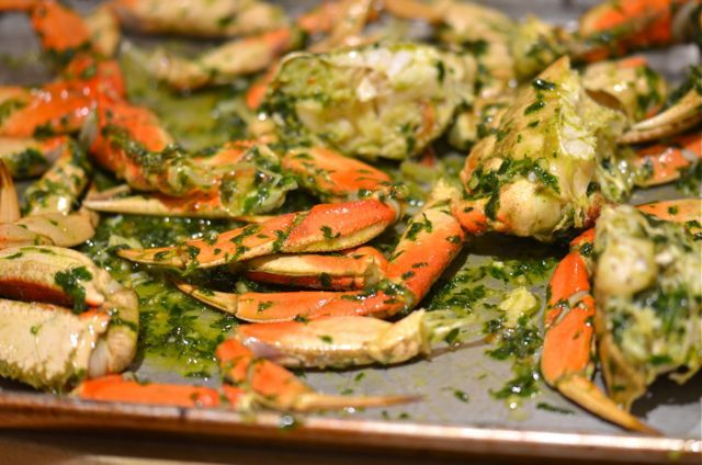 Here on the west coast we get a special treat every holiday season, Dungeness crab. Starting in November and running through the winter, good fish markets will have chill cases full of big, bright …