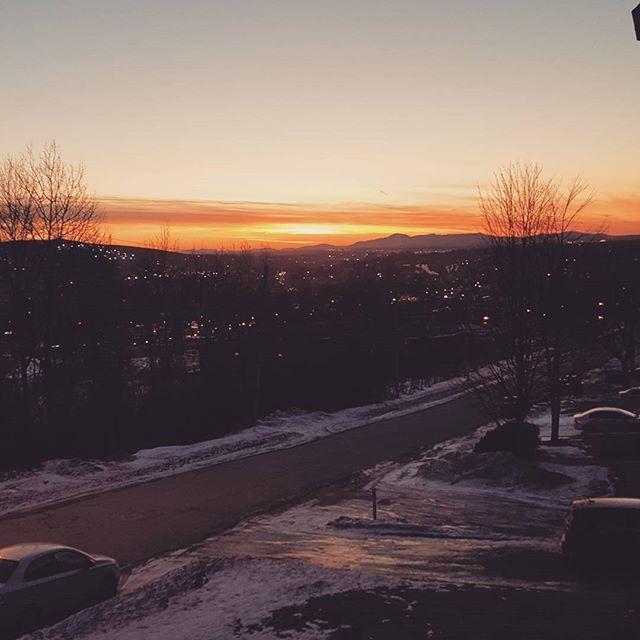 Sherby sunset.
