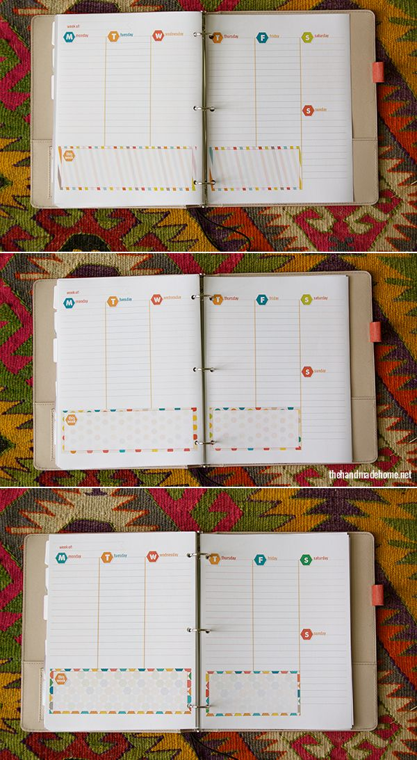 Awesome FREE printable calendar via www.thehandmadehome.net
