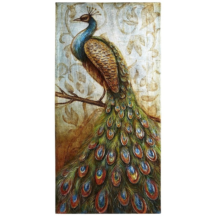 24 Best Images About Peacock Canvas Ideas On Pinterest