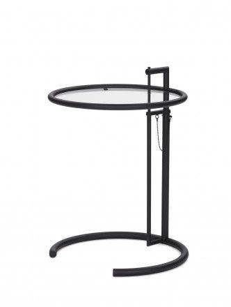 Classicon Adjustable Table E 1027 Black Version, Eileen Gray 1927 Berlin steidten+