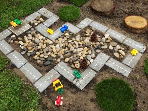 Прикольные детские игровые площадки для дачи, которые может сделать только папа! | Частный Дом