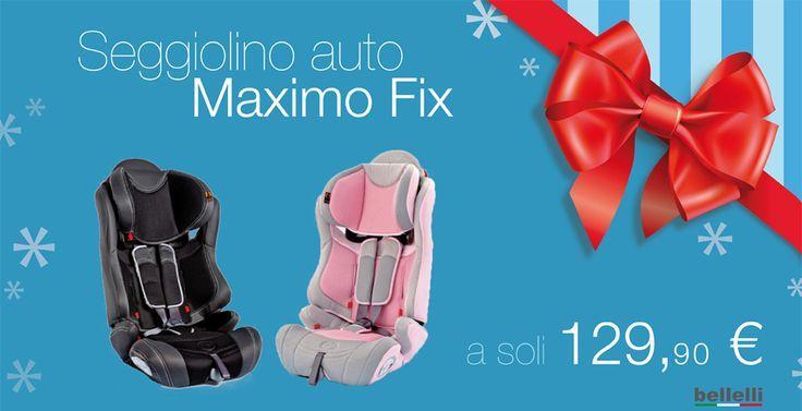 Il Natale sta arrivando... e noi prepariamo tantissimi regali per voi! http://www.casadelbambino.com/seggiolino-auto-maximo-fix-bellelli.html