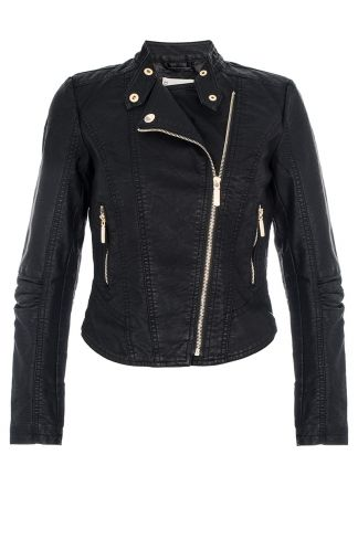 Keep it cool with this biker jacket from Quiz!