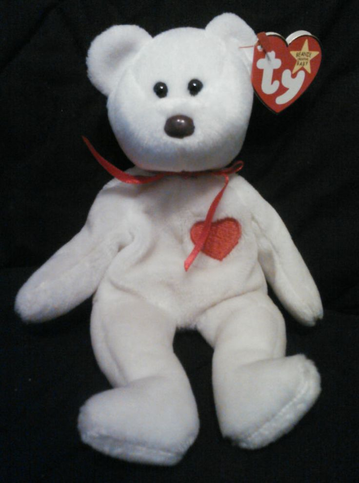 Ty Valentino Beanie Baby, Excellent Condition!!! #Ty