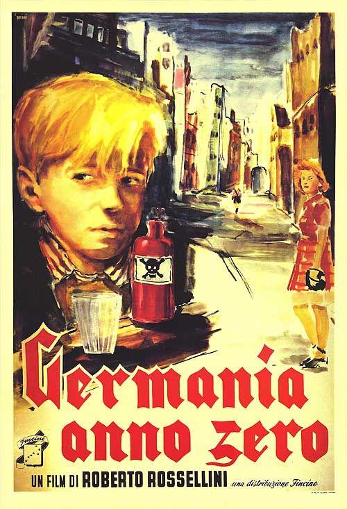 Alemanha, ano zero (Germania, anno zero, 1948, Itália), de Roberto Rosselini