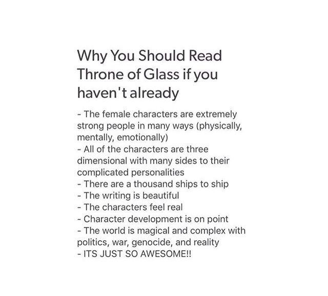 Why you should read Throne of Glass. DO IT!!!!! I just finished the 4th book! i can't even!!