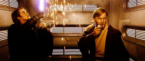 """Cut a hole in ceiling. Why didn't I think of that genius plan?"" 