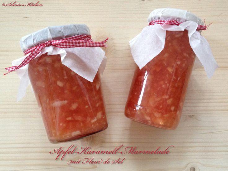 Schnin's Kitchen: Adventswichteln: 4. Apfel-Karamell-Marmelade mit Fleur de Sel