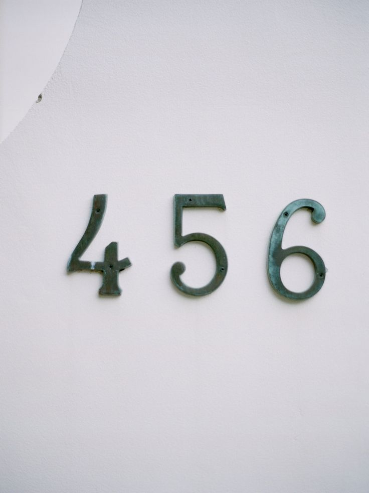 Rosemary Beach, Florida house numbers