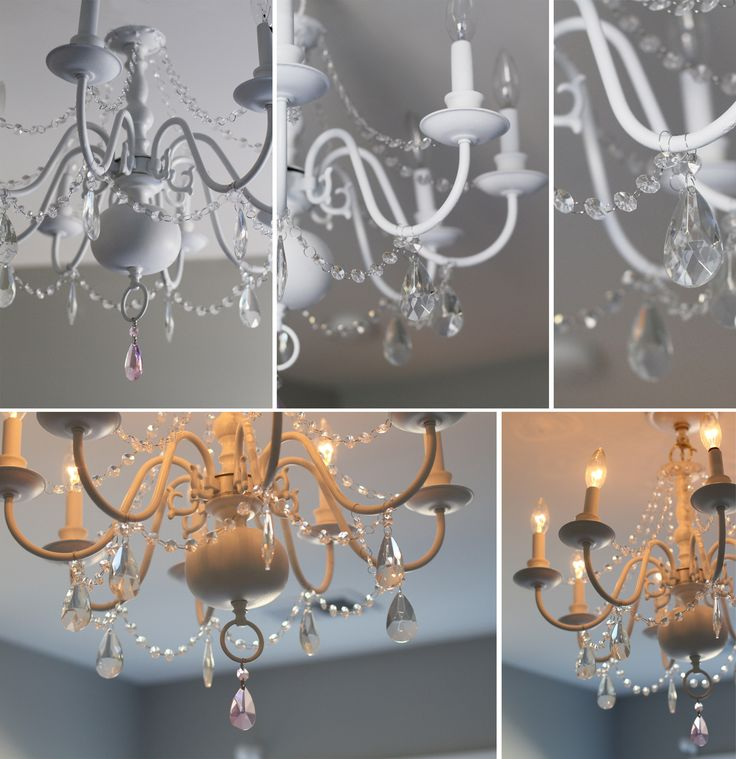 Best I Have A Crush On Chandeliers Images On Pinterest Light - Chandelier crystals diy