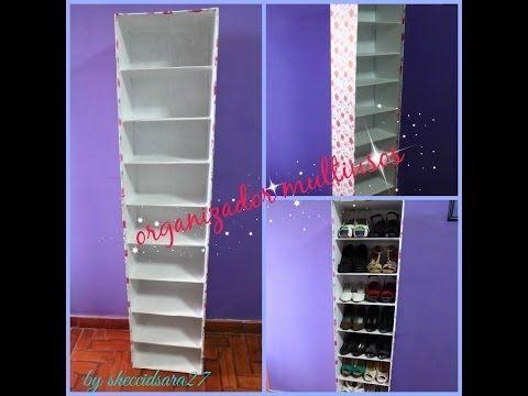 Mueble de cartón estilo Disney para decoración infantil. DIY manualidades con cartón - YouTube