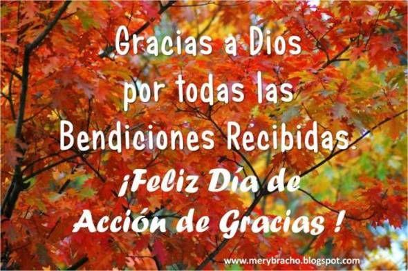 tarjetitas dia de accion de gracias | Día de Acción de Gracias. Feliz Día de Acción de Gracias. Postales ...
