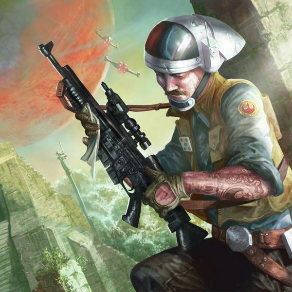 A280 blaster rifle | Star wars, Jdr et Truc