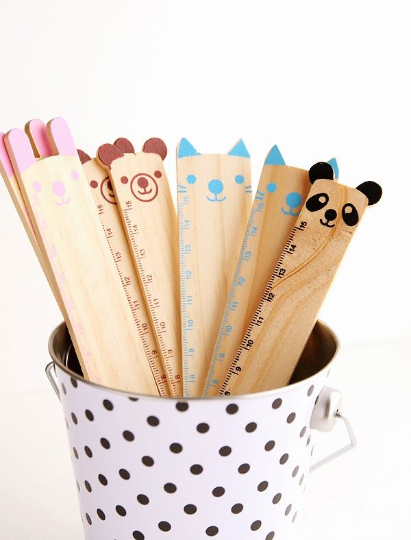 Cute animal rulers