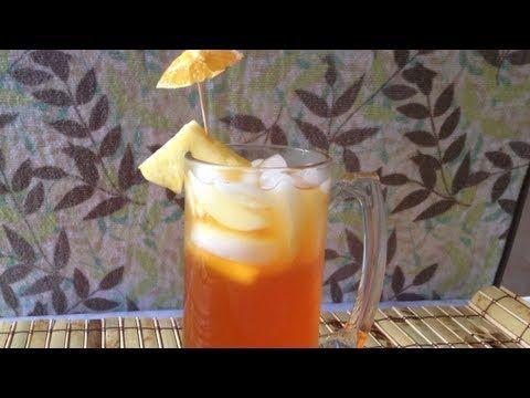 Tepache  de piña naranja y tamarindo. Delicioso receta