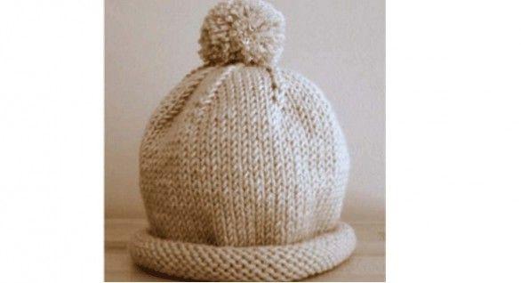 Schema per cappello ai ferri per bambini