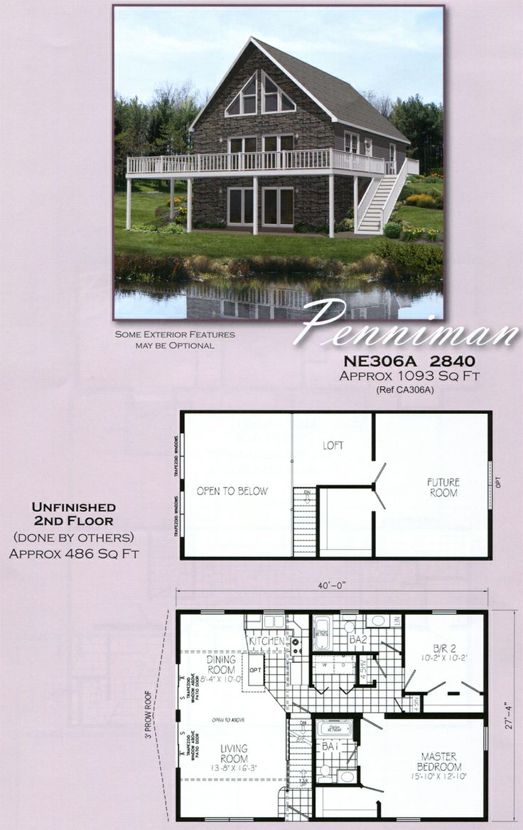 Erie Penniman Cape Chalet With Images Manufactured Home Modular Homes 10 Year Plan