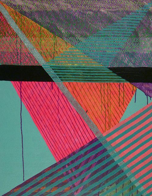 color + pattern aqua teal turquoise