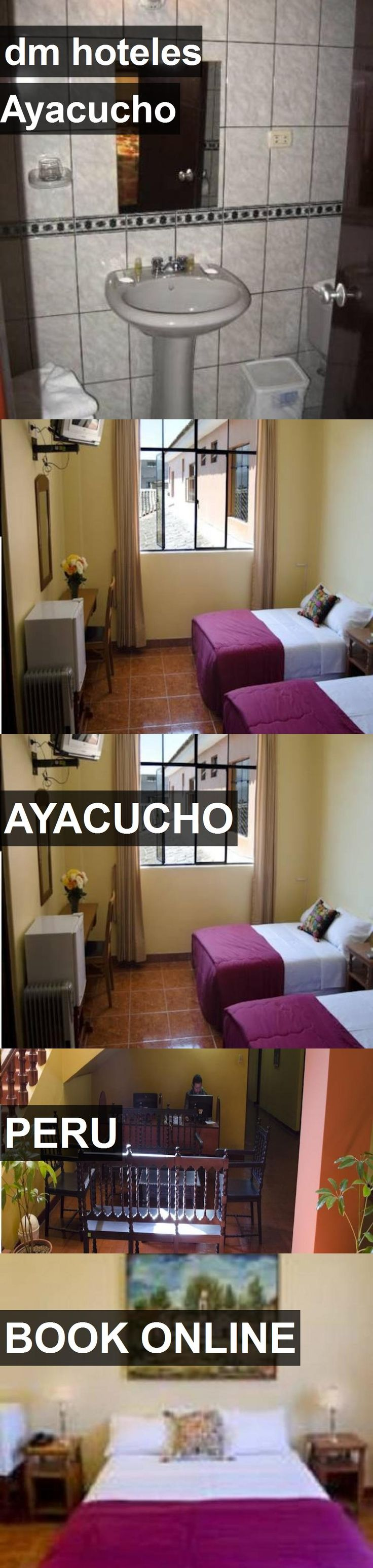 dm hoteles Ayacucho in Ayacucho, Peru. For more information, photos, reviews and best prices please follow the link. #Peru #Ayacucho #travel #vacation #hotel
