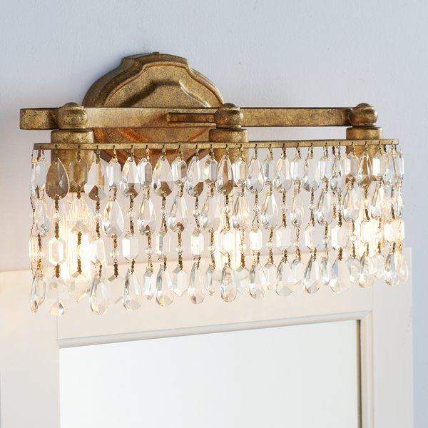 Lend Any Space A Touch Of Glamour With This Versatile Vanity Light