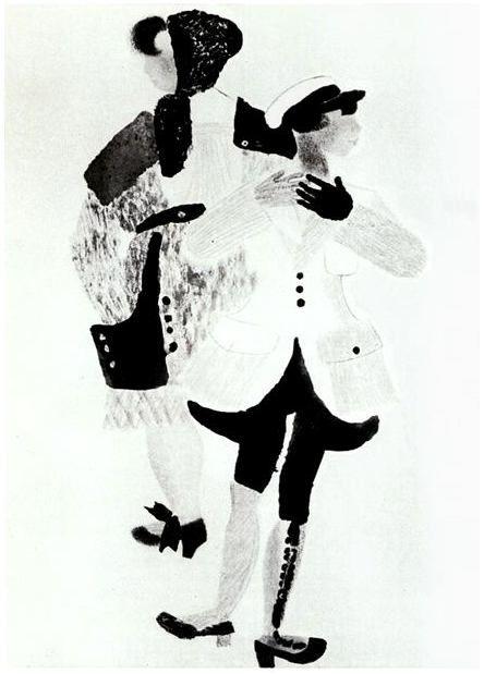 Владимир Васильевич Лебедев (1891-1967гг) - Музей рисунка