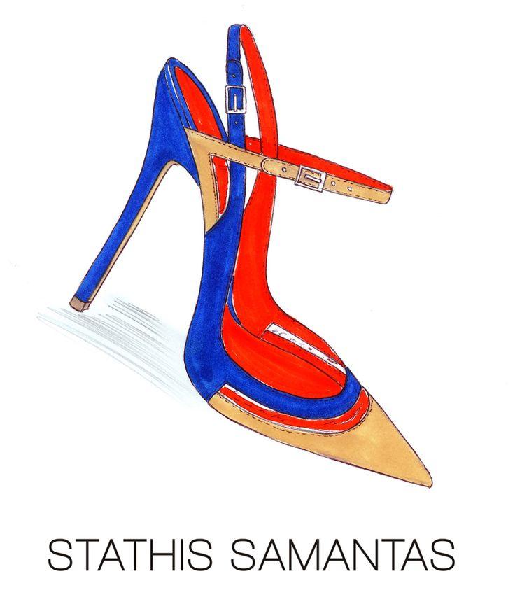 Σκίτσο από τη συλλογή Άνοιξη-Καλοκαίρι 2015 #stathissamantas www.stathissamantas.com http://instagram.com/stathissamantas https://twitter.com/stathissamantas