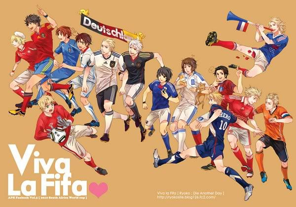 hetalia FIFA a hetalia  fan  can't watch The FIFA World Cup w/out seeing this