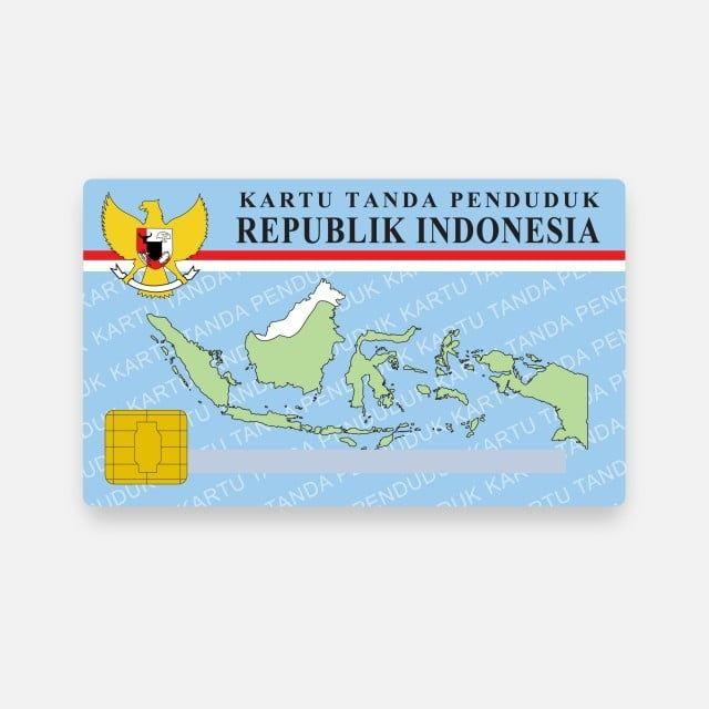 Ktp Indonesia E Ktp Id Card | Identity Card Design, Logo Design Free  Templates, Graphic Design Software