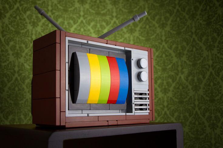 Retro Technology LEGO Kits by Chris McVeigh | Man Made DIY | Crafts for Men | Keywords: retro, humor, technology, Lego