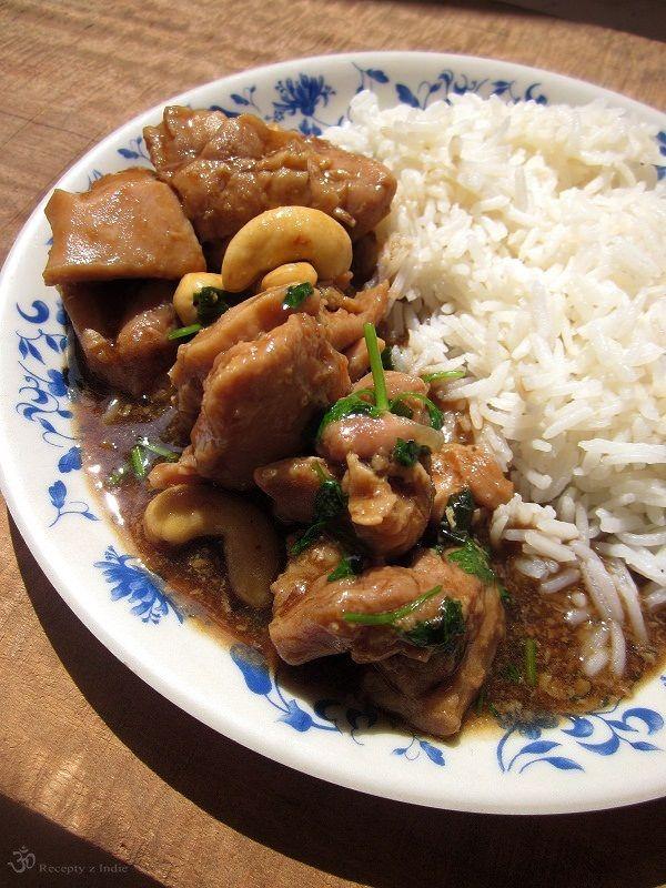 Recepty z Indie: Kuracie kusky s kesu orechami
